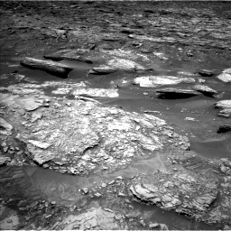 Nasa's Mars rover Curiosity acquired this image using its Left Navigation Camera on Sol 1696, at drive 388, site number 63