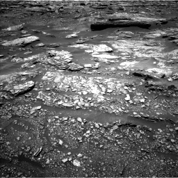 Nasa's Mars rover Curiosity acquired this image using its Left Navigation Camera on Sol 1696, at drive 484, site number 63