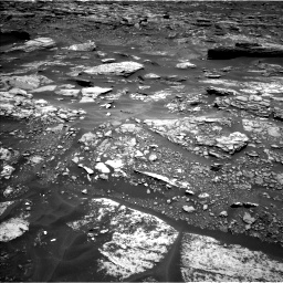 Nasa's Mars rover Curiosity acquired this image using its Left Navigation Camera on Sol 1696, at drive 502, site number 63