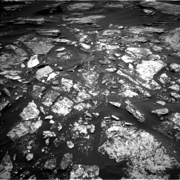 Nasa's Mars rover Curiosity acquired this image using its Left Navigation Camera on Sol 1696, at drive 562, site number 63