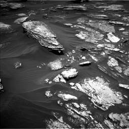Nasa's Mars rover Curiosity acquired this image using its Left Navigation Camera on Sol 1696, at drive 580, site number 63