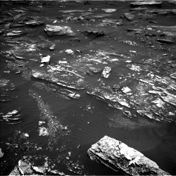Nasa's Mars rover Curiosity acquired this image using its Left Navigation Camera on Sol 1696, at drive 628, site number 63