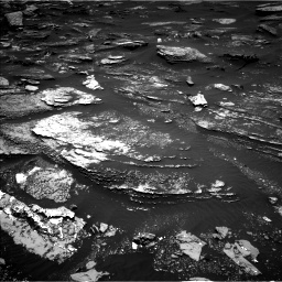 Nasa's Mars rover Curiosity acquired this image using its Left Navigation Camera on Sol 1696, at drive 640, site number 63