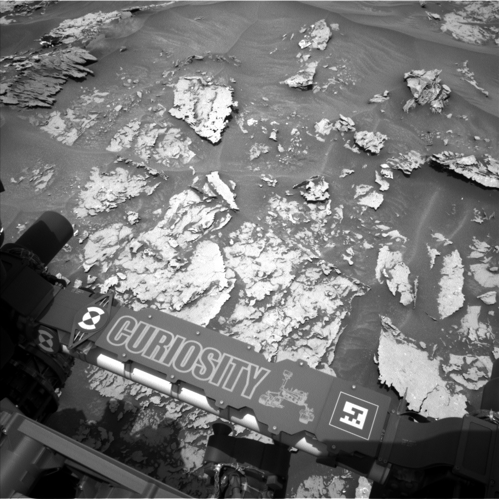 NASA's Mars rover Curiosity acquired this image using its Left Navigation Camera (Navcams) on Sol 1696
