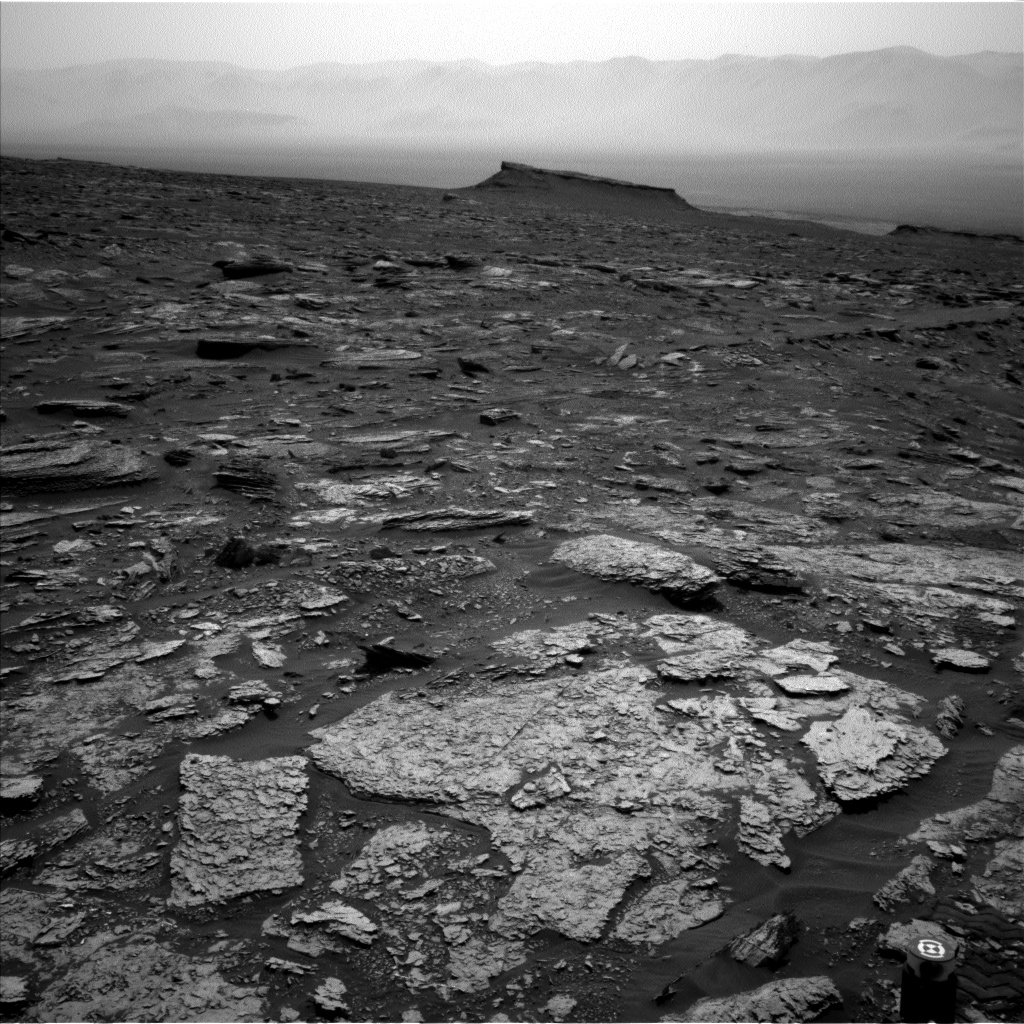 Nasa's Mars rover Curiosity acquired this image using its Left Navigation Camera on Sol 1696, at drive 766, site number 63