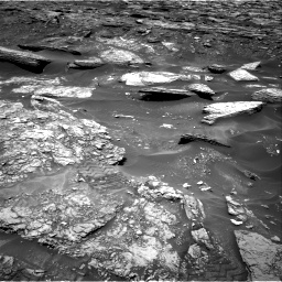 Nasa's Mars rover Curiosity acquired this image using its Right Navigation Camera on Sol 1696, at drive 382, site number 63