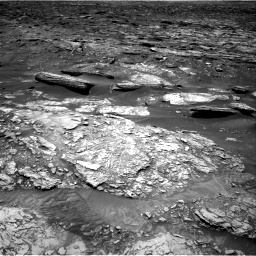 Nasa's Mars rover Curiosity acquired this image using its Right Navigation Camera on Sol 1696, at drive 394, site number 63
