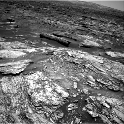 Nasa's Mars rover Curiosity acquired this image using its Right Navigation Camera on Sol 1696, at drive 406, site number 63