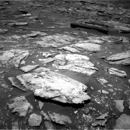 Nasa's Mars rover Curiosity acquired this image using its Right Navigation Camera on Sol 1696, at drive 430, site number 63