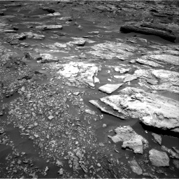Nasa's Mars rover Curiosity acquired this image using its Right Navigation Camera on Sol 1696, at drive 436, site number 63