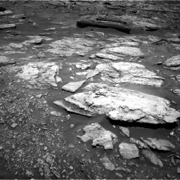 Nasa's Mars rover Curiosity acquired this image using its Right Navigation Camera on Sol 1696, at drive 448, site number 63