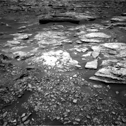 Nasa's Mars rover Curiosity acquired this image using its Right Navigation Camera on Sol 1696, at drive 466, site number 63