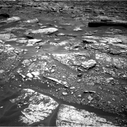 Nasa's Mars rover Curiosity acquired this image using its Right Navigation Camera on Sol 1696, at drive 502, site number 63