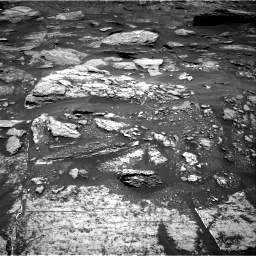 Nasa's Mars rover Curiosity acquired this image using its Right Navigation Camera on Sol 1696, at drive 532, site number 63
