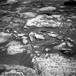 Nasa's Mars rover Curiosity acquired this image using its Right Navigation Camera on Sol 1696, at drive 538, site number 63
