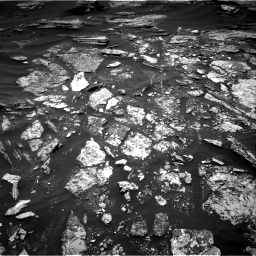 Nasa's Mars rover Curiosity acquired this image using its Right Navigation Camera on Sol 1696, at drive 568, site number 63