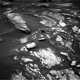 Nasa's Mars rover Curiosity acquired this image using its Right Navigation Camera on Sol 1696, at drive 580, site number 63