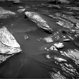 Nasa's Mars rover Curiosity acquired this image using its Right Navigation Camera on Sol 1696, at drive 586, site number 63