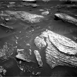 Nasa's Mars rover Curiosity acquired this image using its Right Navigation Camera on Sol 1696, at drive 598, site number 63