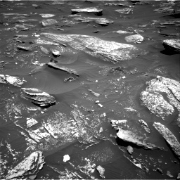 Nasa's Mars rover Curiosity acquired this image using its Right Navigation Camera on Sol 1696, at drive 604, site number 63
