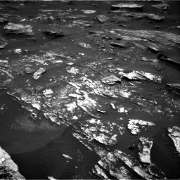 Nasa's Mars rover Curiosity acquired this image using its Right Navigation Camera on Sol 1696, at drive 622, site number 63