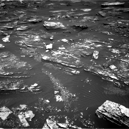 Nasa's Mars rover Curiosity acquired this image using its Right Navigation Camera on Sol 1696, at drive 634, site number 63