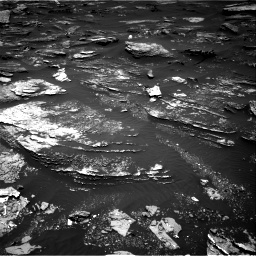 Nasa's Mars rover Curiosity acquired this image using its Right Navigation Camera on Sol 1696, at drive 640, site number 63