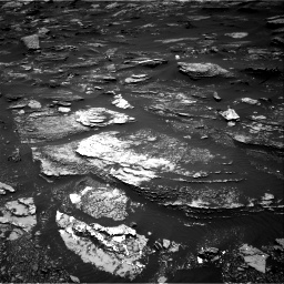 Nasa's Mars rover Curiosity acquired this image using its Right Navigation Camera on Sol 1696, at drive 646, site number 63