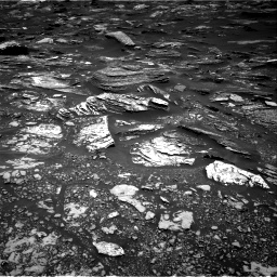 Nasa's Mars rover Curiosity acquired this image using its Right Navigation Camera on Sol 1696, at drive 670, site number 63