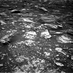 Nasa's Mars rover Curiosity acquired this image using its Right Navigation Camera on Sol 1696, at drive 676, site number 63