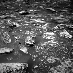 Nasa's Mars rover Curiosity acquired this image using its Right Navigation Camera on Sol 1696, at drive 682, site number 63