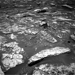 Nasa's Mars rover Curiosity acquired this image using its Right Navigation Camera on Sol 1696, at drive 694, site number 63