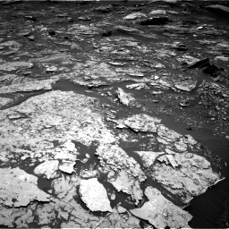 Nasa's Mars rover Curiosity acquired this image using its Right Navigation Camera on Sol 1696, at drive 706, site number 63