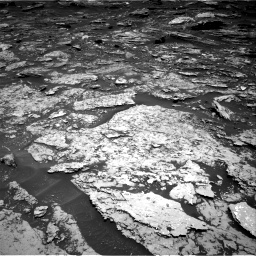 Nasa's Mars rover Curiosity acquired this image using its Right Navigation Camera on Sol 1696, at drive 712, site number 63