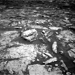 Nasa's Mars rover Curiosity acquired this image using its Right Navigation Camera on Sol 1696, at drive 718, site number 63