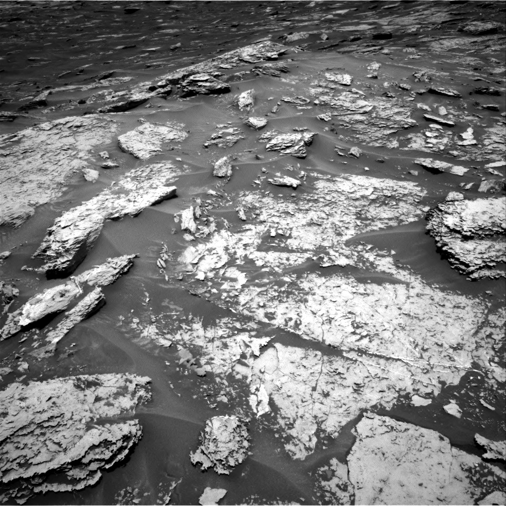 Nasa's Mars rover Curiosity acquired this image using its Right Navigation Camera on Sol 1696, at drive 724, site number 63