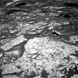 Nasa's Mars rover Curiosity acquired this image using its Right Navigation Camera on Sol 1696, at drive 736, site number 63