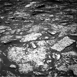 Nasa's Mars rover Curiosity acquired this image using its Right Navigation Camera on Sol 1696, at drive 748, site number 63