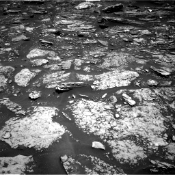 Nasa's Mars rover Curiosity acquired this image using its Right Navigation Camera on Sol 1696, at drive 754, site number 63