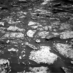 Nasa's Mars rover Curiosity acquired this image using its Right Navigation Camera on Sol 1696, at drive 760, site number 63