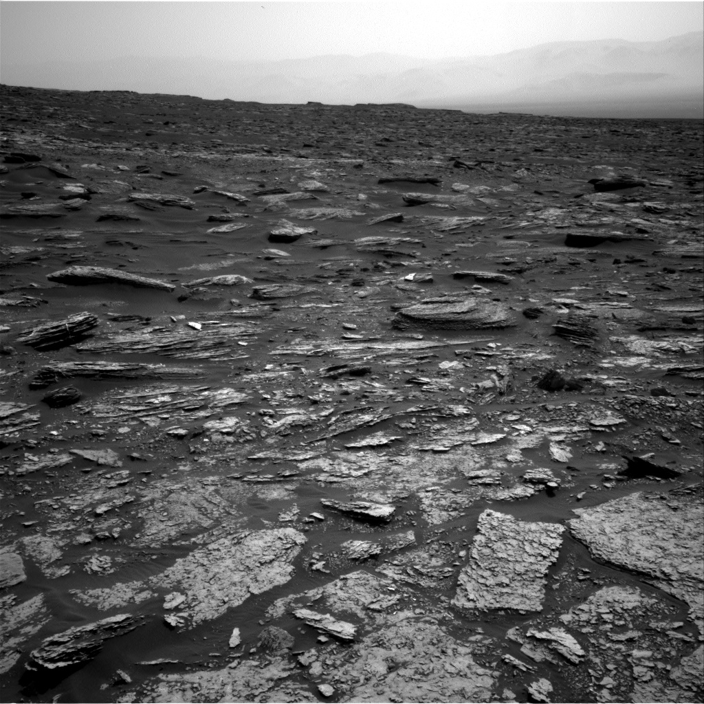Nasa's Mars rover Curiosity acquired this image using its Right Navigation Camera on Sol 1696, at drive 766, site number 63