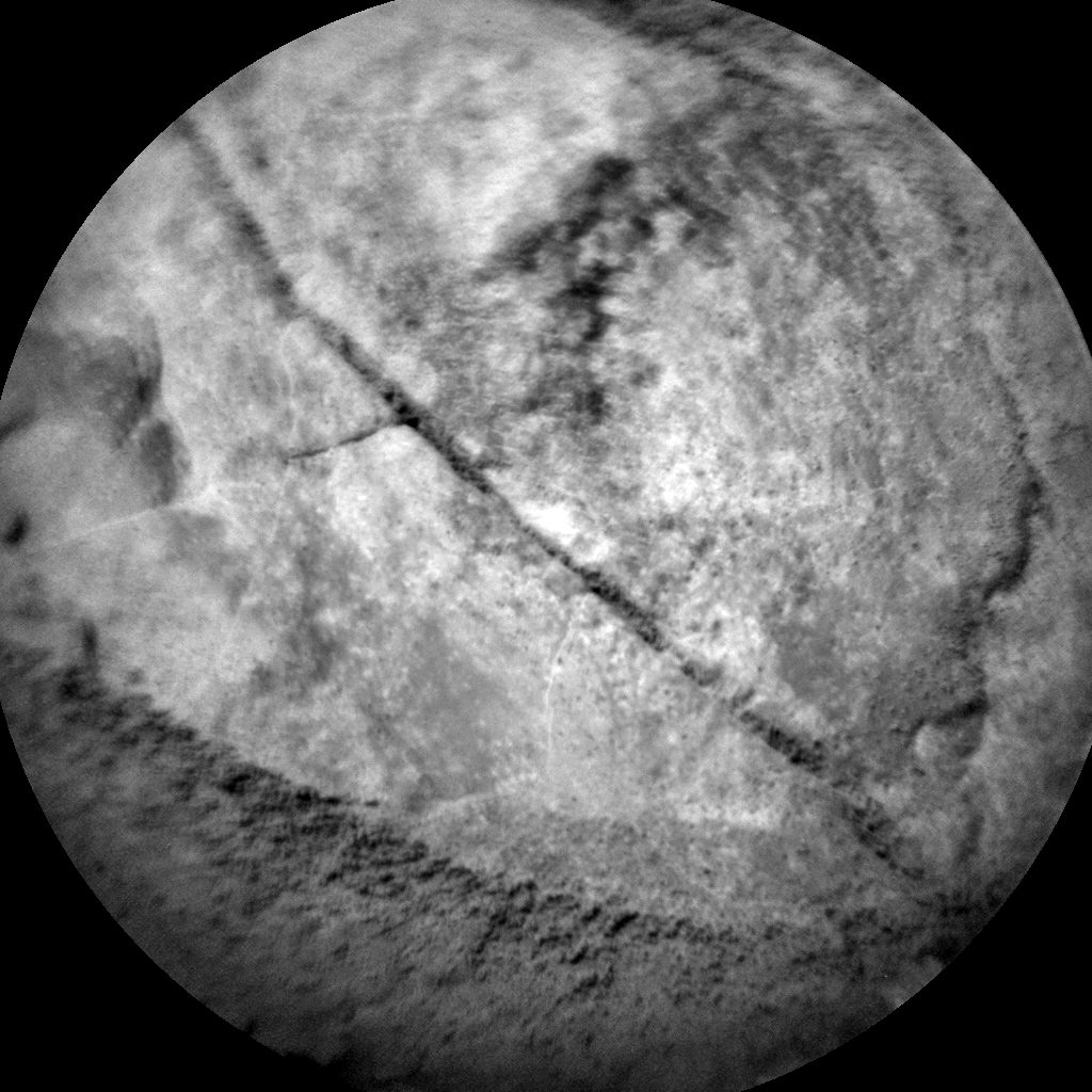 Nasa's Mars rover Curiosity acquired this image using its Chemistry & Camera (ChemCam) on Sol 1696, at drive 346, site number 63