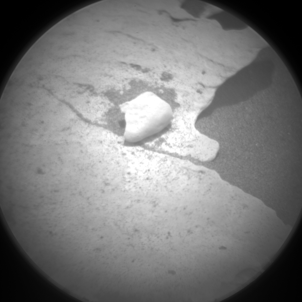 Nasa's Mars rover Curiosity acquired this image using its Chemistry & Camera (ChemCam) on Sol 1697, at drive 766, site number 63