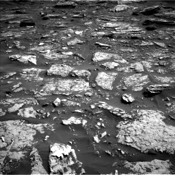 Nasa's Mars rover Curiosity acquired this image using its Left Navigation Camera on Sol 1698, at drive 766, site number 63