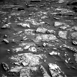 Nasa's Mars rover Curiosity acquired this image using its Left Navigation Camera on Sol 1698, at drive 772, site number 63