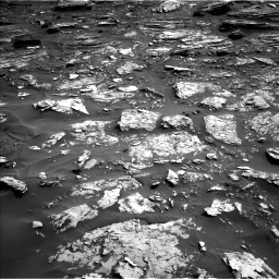 Nasa's Mars rover Curiosity acquired this image using its Left Navigation Camera on Sol 1698, at drive 784, site number 63