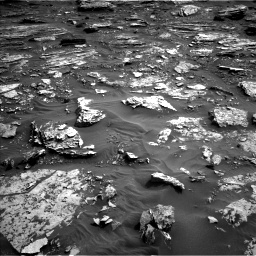 Nasa's Mars rover Curiosity acquired this image using its Left Navigation Camera on Sol 1698, at drive 796, site number 63