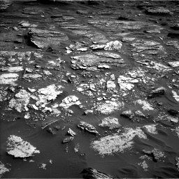 Nasa's Mars rover Curiosity acquired this image using its Left Navigation Camera on Sol 1698, at drive 820, site number 63