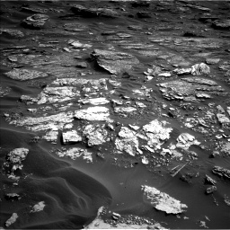 Nasa's Mars rover Curiosity acquired this image using its Left Navigation Camera on Sol 1698, at drive 832, site number 63