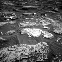 Nasa's Mars rover Curiosity acquired this image using its Left Navigation Camera on Sol 1698, at drive 856, site number 63